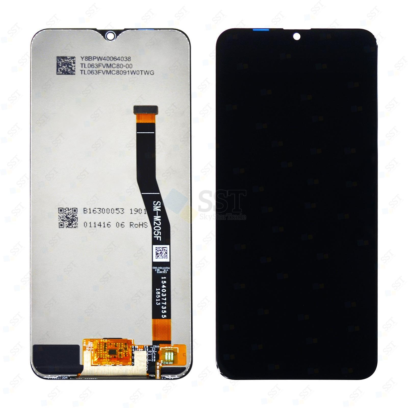 Samsung Galaxy M20 M205F/DS M205G LCD Screen Digitizer, Black