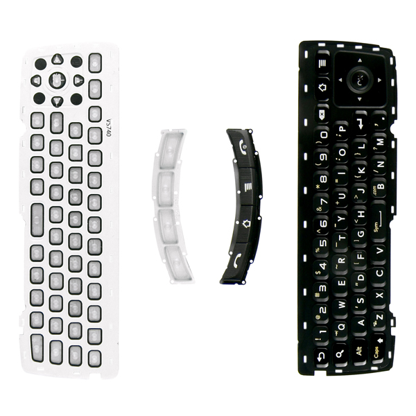 LG Ally VS740 Front and Main Keypads