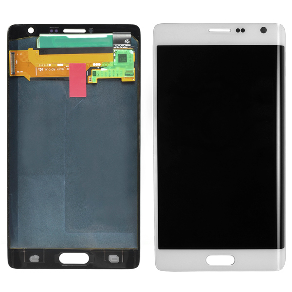 Samsung Galaxy Note Edge N9150 N915A N915D N915F N915FY N915G N915J N915P N915R4 N915T N915V N915W8 LCD Screen Digitizer, Frost White