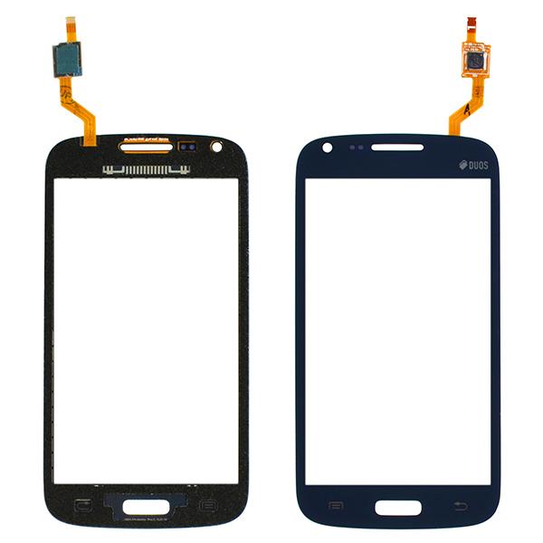 Samsung Galaxy Core Duos i8260 i8262 i8262D Digitizer Touch, Dark Blue, Curved Flex