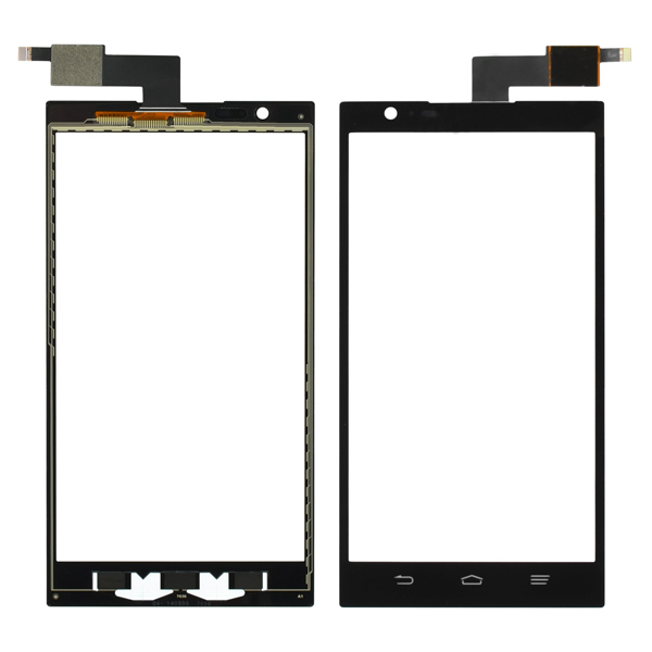 ZTE Zmax Z970 Digitizer Touch, Black