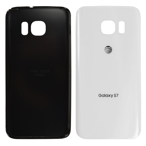 Samsung Galaxy S7 G930 G930F G930A G930V G930P G930T G930R4 G930W8 Back Cover Battery Door, White Pearl, AT&T