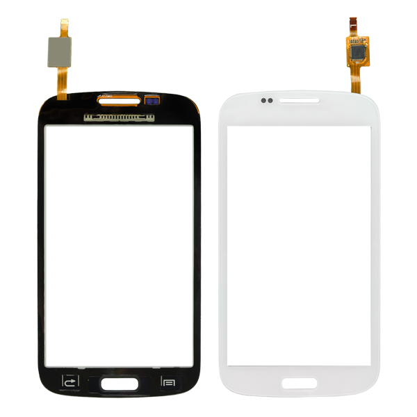 Samsung Galaxy Core Duos i8260 i8262 i8262D Digitizer Touch, White, Straight Flex