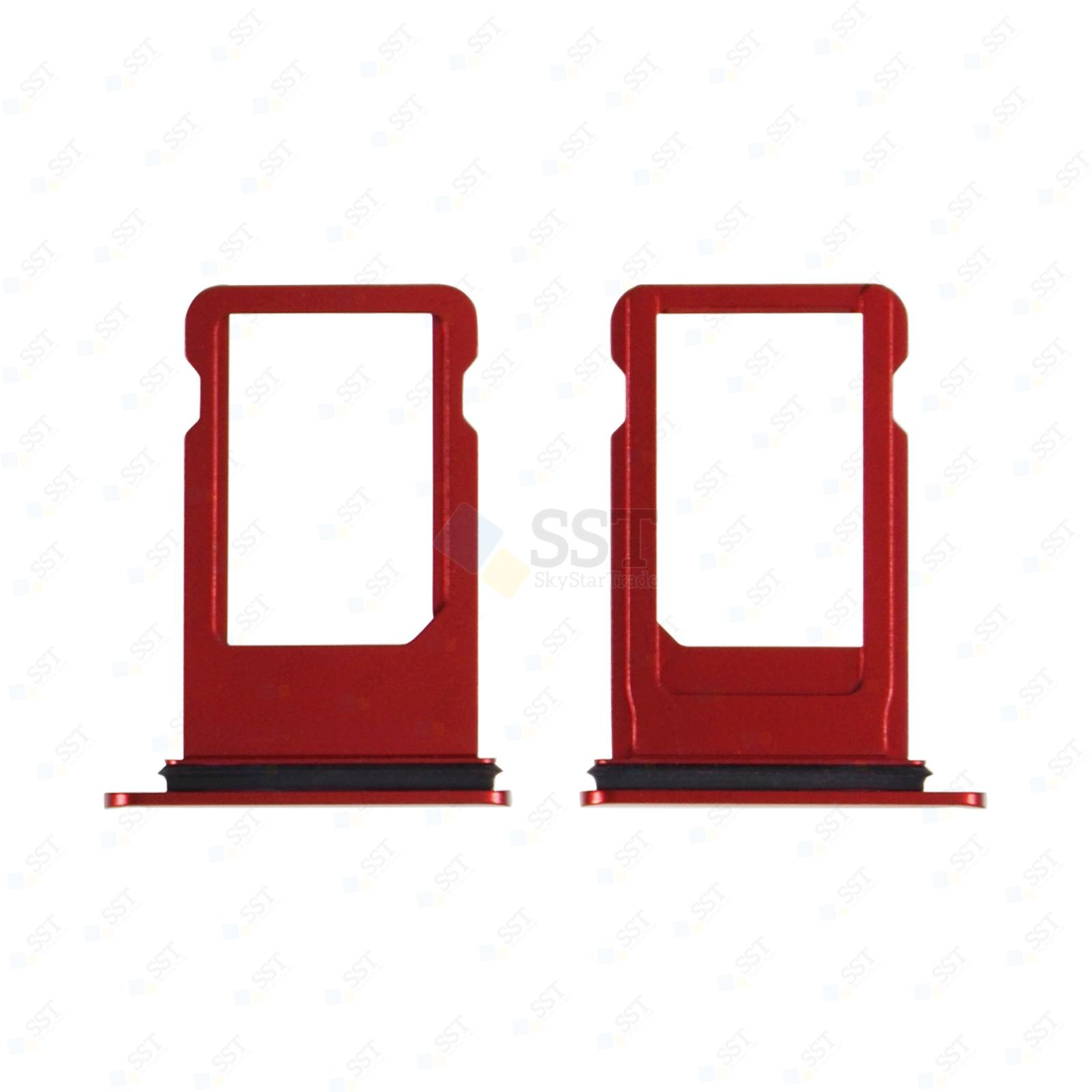 iPhone 8 A1863 A1905 A1906 SimCard Holder Sim Tray with Red