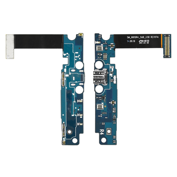 Samsung Galaxy Note Edge N915R4 Flex Cable Ribbon with Charger Port and Mic