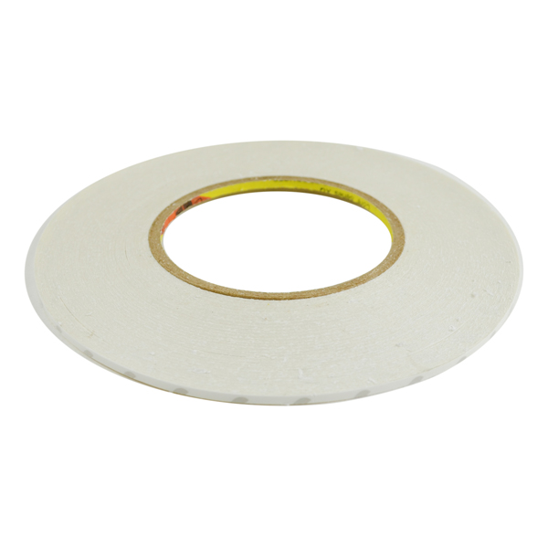 Phone LCD Screen Front Glass Lens and Housing Frame Repair Double Sided Adhesive Tape, 3MM Wide, White
