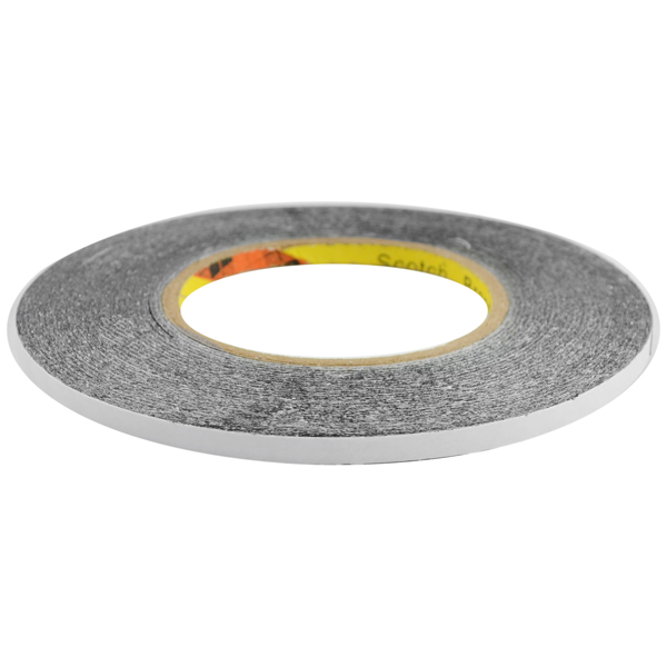 Phone LCD Screen Front Glass Lens and Housing Frame Repair Double Sided Adhesive Tape, 6MM Wide