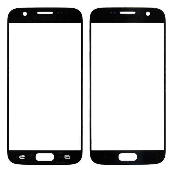 Samsung Galaxy S7 G930 G930F G930A G930V G930P G930T G930R4 G930W8 Front Screen Glass Lens, Black