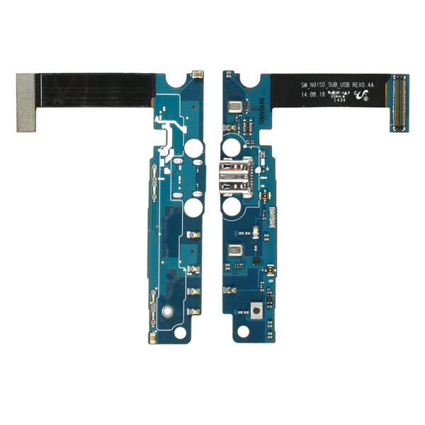 Samsung Galaxy Note Edge N915D Flex Cable Ribbon with Charger Port and Mic