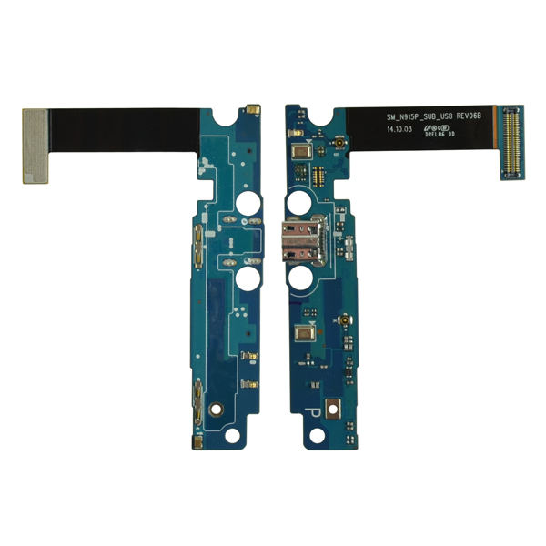 Samsung Galaxy Note Edge N915P Flex Cable Ribbon with Charger Port and Mic