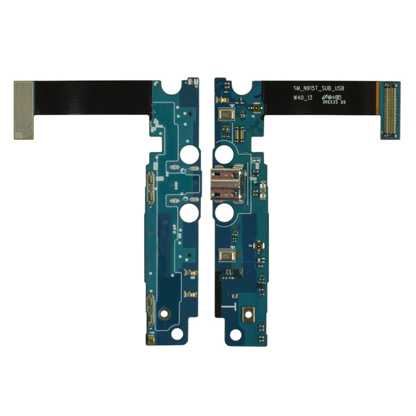 Samsung Galaxy Note Edge N915T Flex Cable Ribbon with Charger Port and Mic