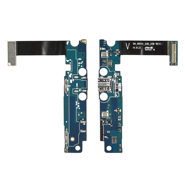 Samsung Galaxy Note Edge N915V Flex Cable Ribbon with Charger Port and Mic