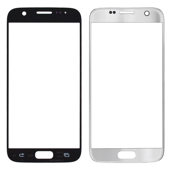 Samsung Galaxy S7 G930 G930F G930A G930V G930P G930T G930R4 G930W8 Front Screen Glass Lens, Silver
