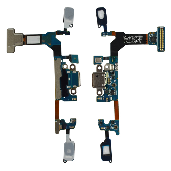 Samsung Galaxy S7 G930F Flex Cable Ribbon with Charger Port, Touch Sensor Keyboard and Mic