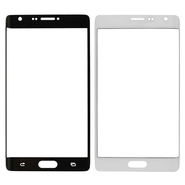 Samsung Galaxy Note Edge N9150 N915A N915D N915F N915FY N915G N915J N915P N915R4 N915T N915V N915W8 Front Screen Glass Lens, Frost White