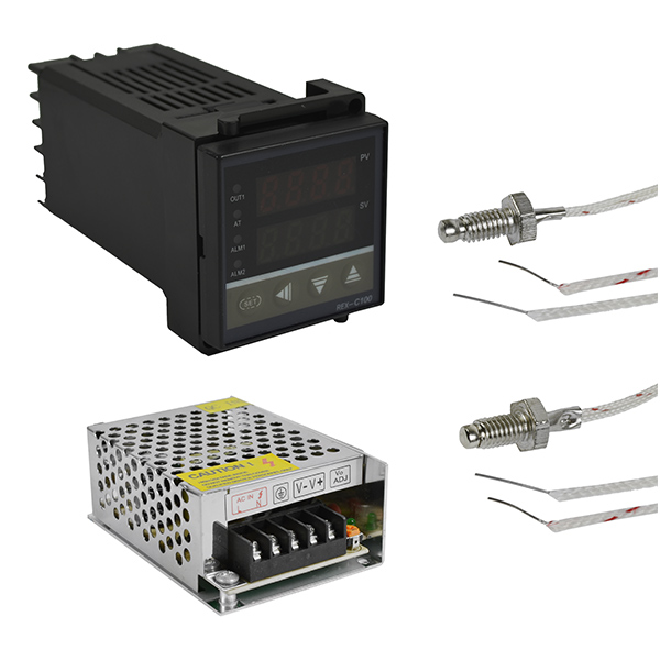 PID Digital Temperature Control Controller with Power Supply