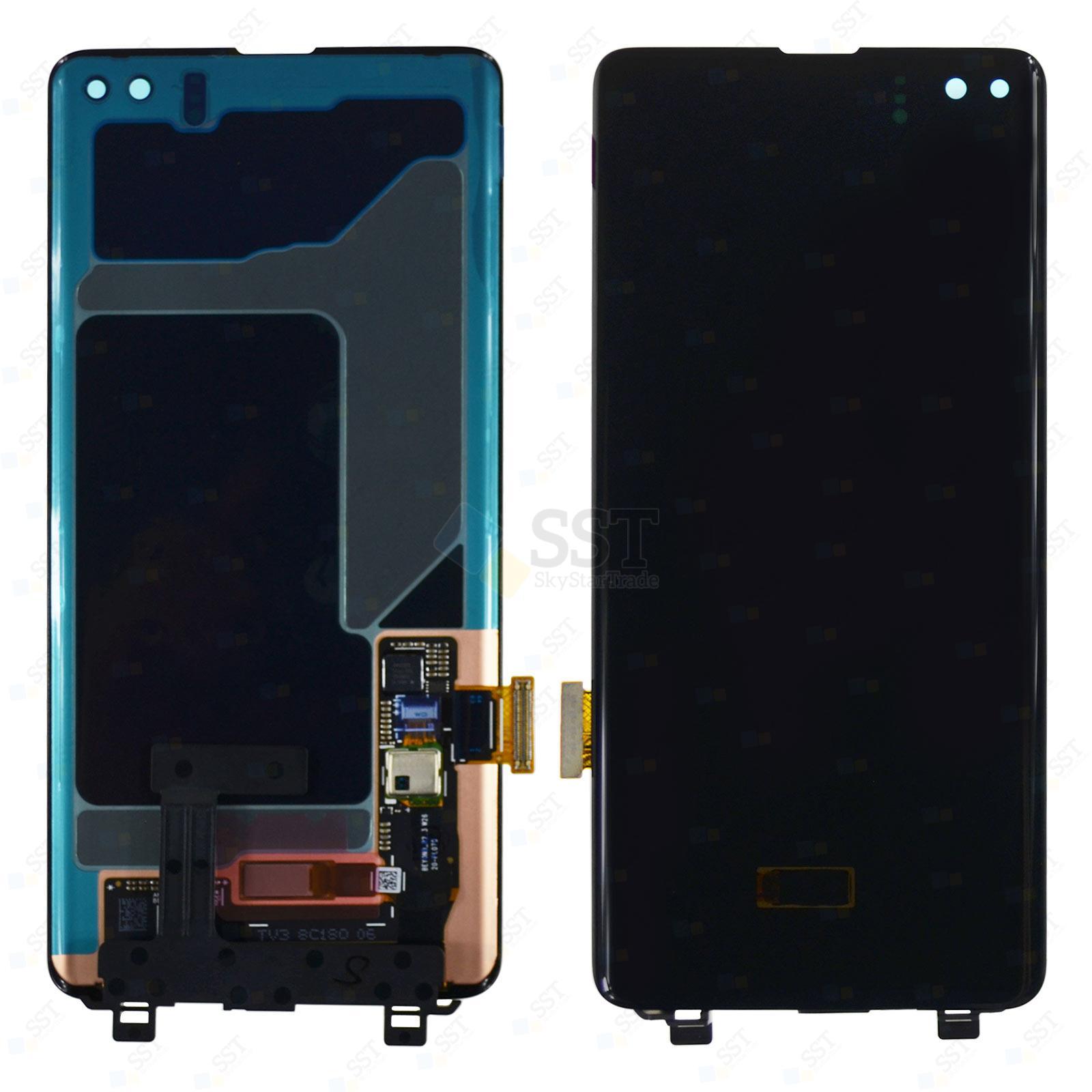Samsung Galaxy S10 Plus G9750 G975N G975F G975U LCD Screen Digitizer, Black