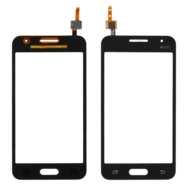 Samsung Galaxy Core 2 G355 G355H Digitizer Touch, Black