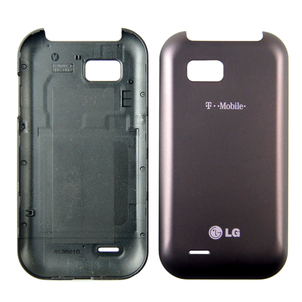 LG T-Mobile myTouch Q C800, Eclyps C800g Back Cover Battery Door, Purple/Violet