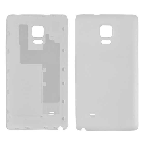 Samsung Galaxy Note Edge N9150 N915A N915D N915F N915FY N915G N915J N915P N915R4 N915T N915V N915W8 Back Cover Battery Door, Frost White, Samsung Logo