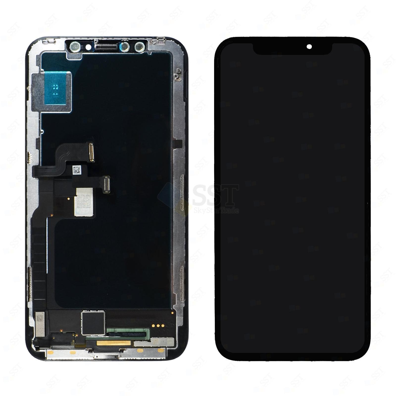 iPhone X 10 A1865 A1901 A1902 LCD Screen Digitizer, Black