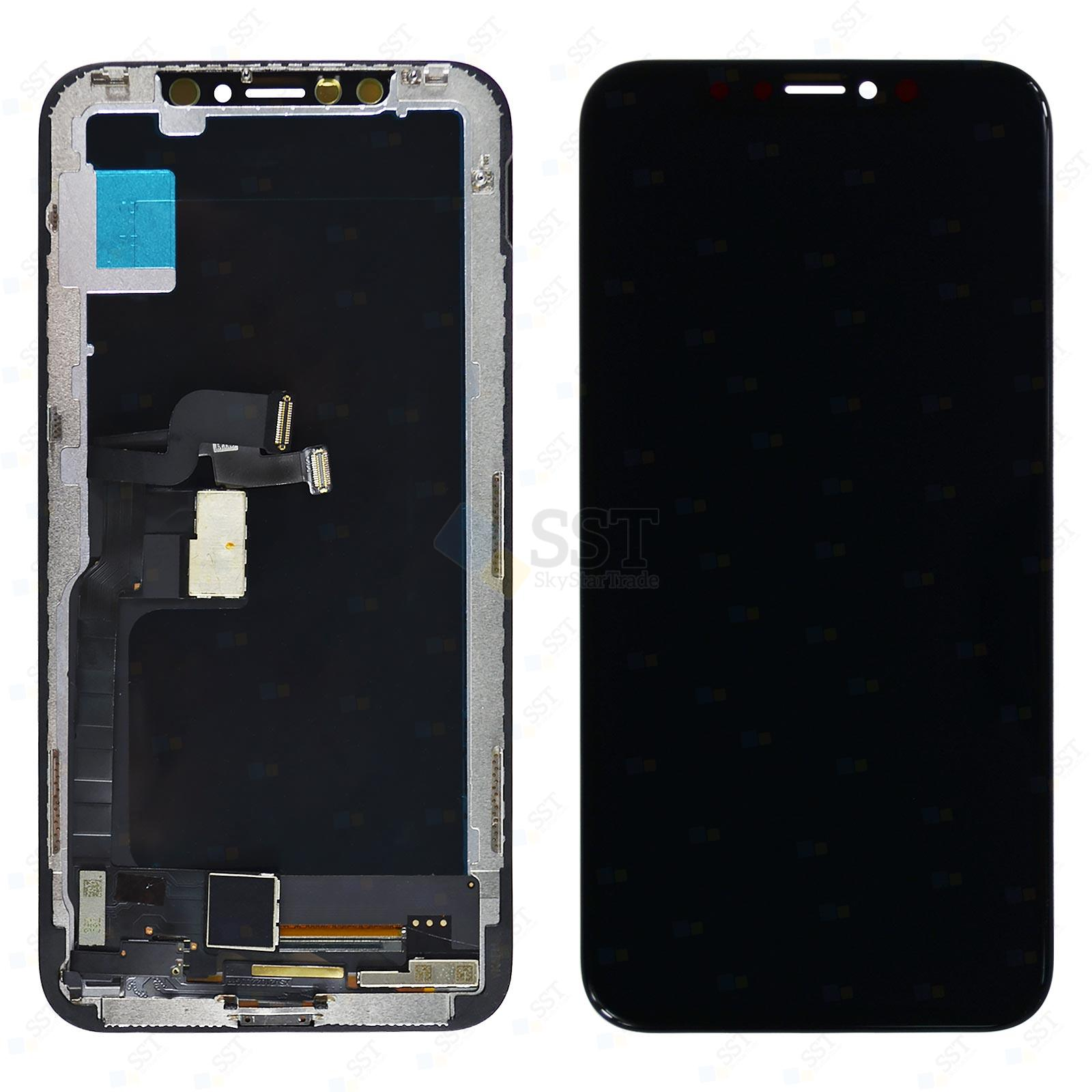 iPhone X 10 A1865 A1901 A1902 LCD Screen Digitizer, Black, High Quality
