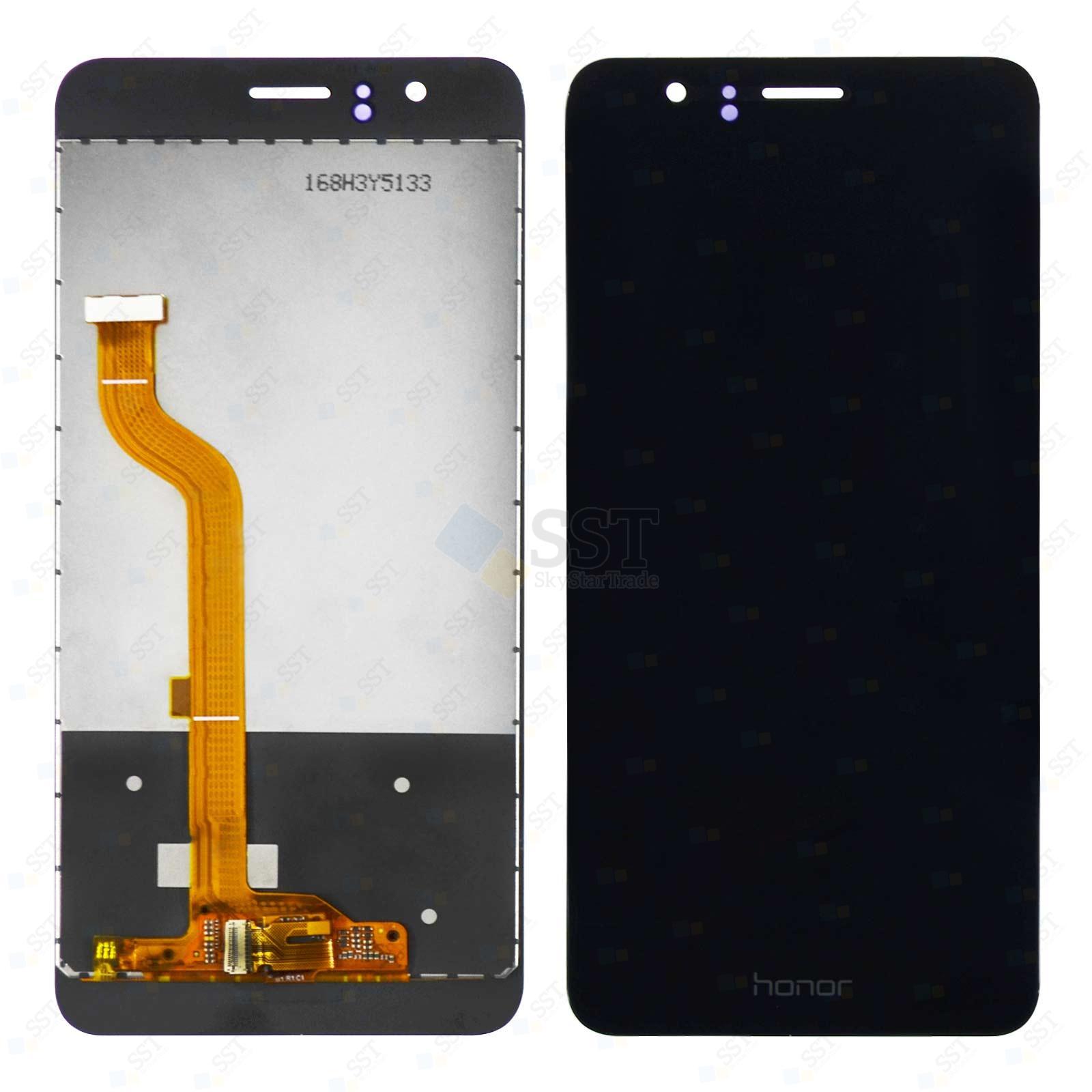 Huawei Honor 8 FRD-AL00 L02 L04 L09 TL00 FRD-L14 L19 AL10 LCD Screen Digitizer, Black