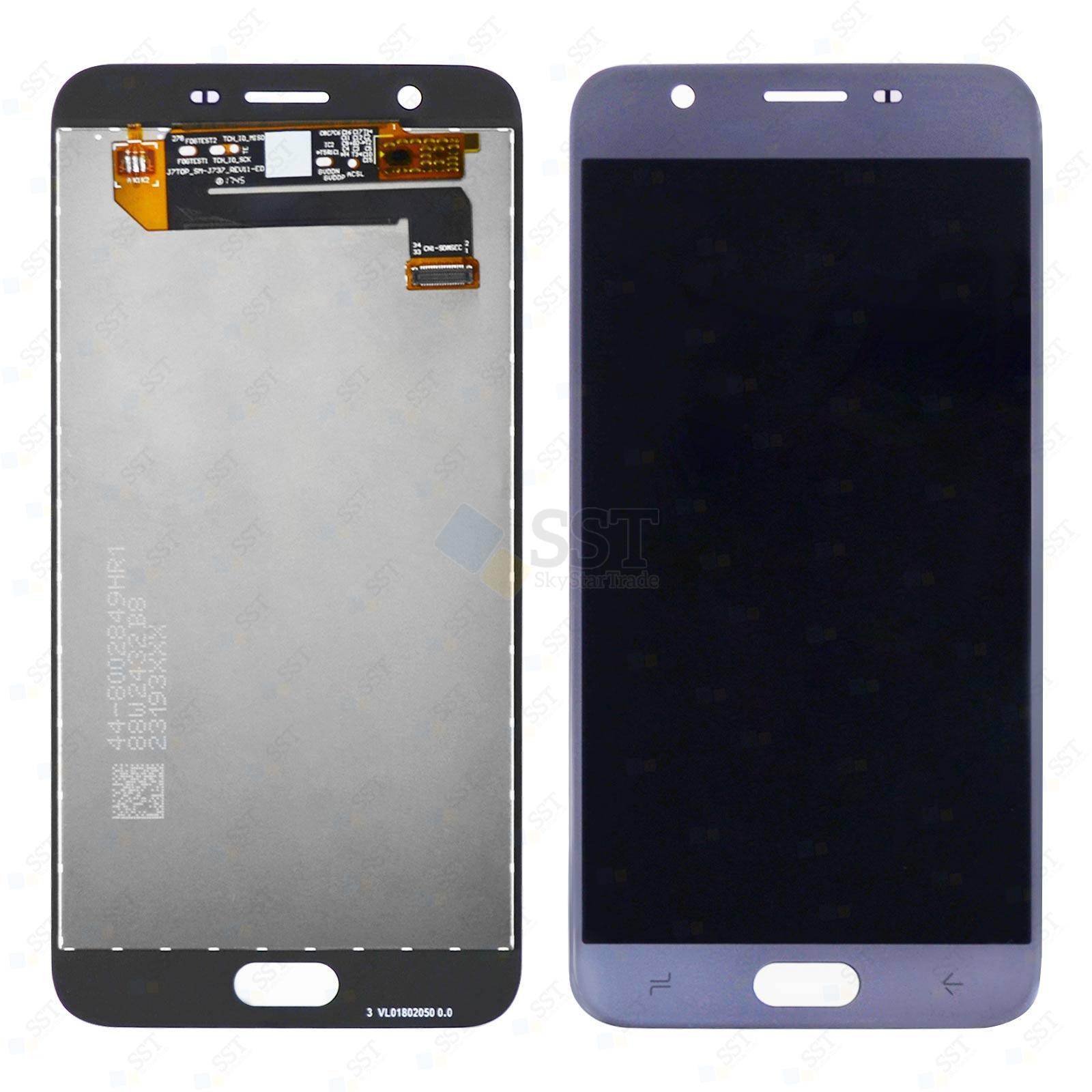Samsung Galaxy J7 2018 J737AJ737P, Aero J737V, Star J737T LCD Screen Digitizer, Blue, Rev11