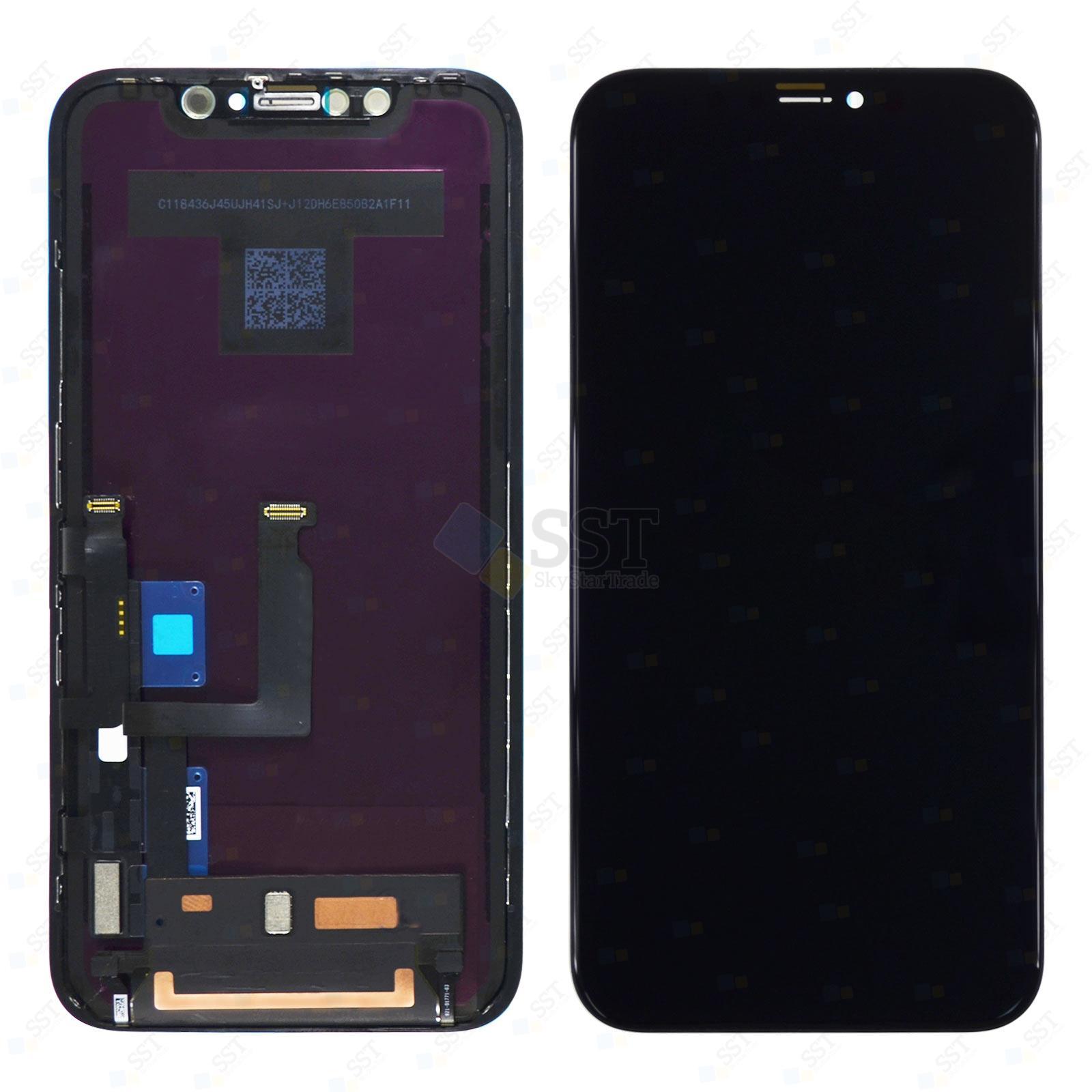 iPhone XR A1984 A2105 A2106 A2107 A2108 LCD Screen Digitizer, Black