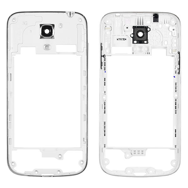 Samsung Galaxy S4 mini i9192 Backplate Rear Housing with Bezel Frame and Power & Volume Buttons
