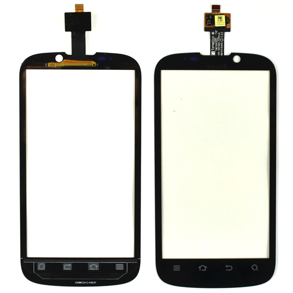 ZTE Grand X V970 V970M, Mimosa X Digitizer Touch, Black